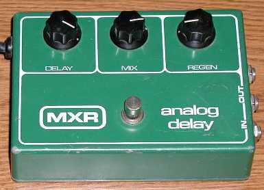 mxr analog delay